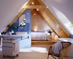 Dachboden Schlafzimmer | 3 Platz Modernisierungs Wettbewerb Umbau Zur Weissen Stadtvilla