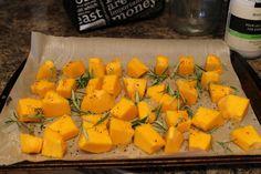 Dovleac cu rozmarin si piper la cuptor Mango, Fruit, Food, Manga, Essen, Meals, Yemek, Eten