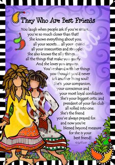 Are you looking for inspiration for happy birthday wishes?Browse around this site for unique happy birthday inspiration.May the this special day bring you love. Sister Friend Quotes, Sister Poems, Friend Poems, Sister Friends, Bff Quotes, Best Friend Quotes, True Friends, Best Friends, Funny Quotes