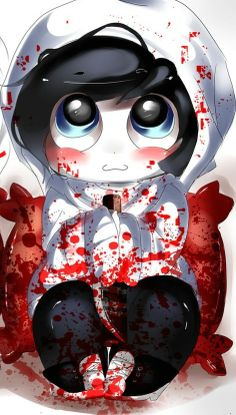 Chibi Jeff The Killer ♥ omnomnom!!