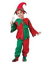 Kids Elf Set Costume - elf-costumes - christmas