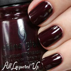 Maybe a good oxblood color? China Glaze All Aboard Fall 2014 Swatches & Review – Part 1