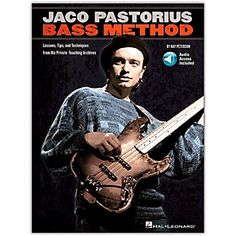 Shop for the Hal Leonard Jaco Pastorius Bass Method - Book/Online Audio in and receive free shipping and guaranteed lowest price. Jaco Pastorius, Jazz Artists, Jazz Musicians, Smooth Jazz, Donna Lee, Bass Guitar Lessons, Jazz Blues, My Favorite Music, I Love Music