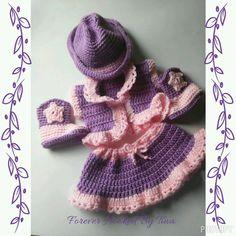 Lil' Cowgirl Infant Skirt Set by ForeverHookedByTina on Etsy