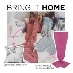 """Bring It Home: Mermaid Dreams"" by polyvore-editorial ❤ liked on Polyvore featuring interior, interiors, interior design, home, home decor, interior decorating, To Be Adored, DENY Designs and bringithome"