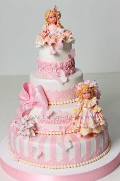 Christening Cake for Medina