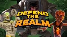 In Matt Hatter Defend the Realm, Matt Hatter is having some crazy adventures. And you must fight to help Matt Hatter in his new adventure. Matt Hatter needs your help, because, even though he has powers and he knows how to use them, and help him destroy all the enemies that come his way. Have fun playing with Matt Hatter!