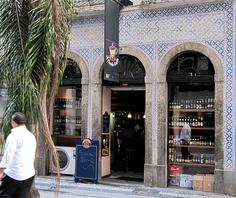 Azulejos antigos no Rio de Janeiro: Centro XXV - rua do Carmo