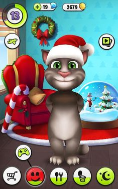 My Talking Tom is Casual game and developed by Outfit7.