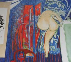 Brett Whiteley Screen as the bathroom window 1976 National Gallery of Australia, Canberra Figure Painting, Painting & Drawing, Life Drawing, Indigenous Art, Aboriginal Art, Australian Artists, Light Painting, Contemporary Paintings, Artist Art
