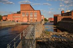 Picture of Tampere, Finland - June Dam on Tammerkoski, the channel of rapids in Tampere. There are four power stations and three dams located on the Tammerkoski stock photo, images and stock photography. Banner Printing, Facebook Image, Image Photography, Finland, Indoor Outdoor, Image Search, Channel, June, Stock Photos