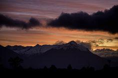 Sunset in the Fiordland from www.jonathanphotos.com #JonathanPaulson