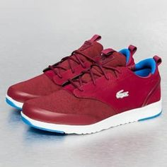 Lacoste Baskets rouge