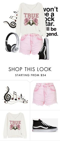 """""""Untitled #2612"""" by moria801 ❤ liked on Polyvore featuring Benzara, Topshop, True Religion, Vans and Beats by Dr. Dre"""