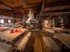 Gastraum in der Seegatterl Alm in Bavaria