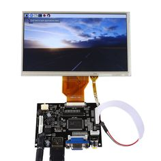 Best 7 Inch TFT LCD Display Monitor For Raspberry Pi + Driver Board HDMI VGA 2AV 3D Printing, Arduino, Robotics | Sainsmart