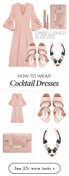 """Untitled #739"" by amnatariq on Polyvore featuring Roksanda, History + Industry, Miu Miu and Yves Saint Laurent"