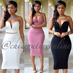 Image may contain: 4 people Chic Outfits, Dress Outfits, Dress Up, Sexy Dresses, Casual Dresses, Fashion Dresses, Chic Couture Online, Classy Dress, African Dress
