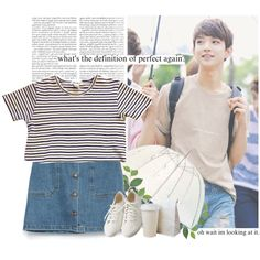 Joshua: what´s the definition of perfect again? by yxing on Polyvore featuring polyvore, fashion, style, Zara, Muji, clothing, kpop, seventeen and joshua