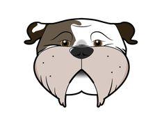 An illustration I did of my bulldog Molson