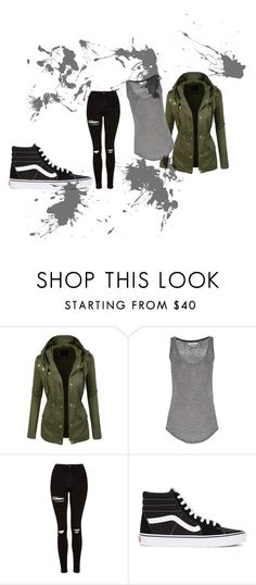 """05"" by chibitesla on Polyvore featuring LE3NO, Étoile Isabel Marant, Topshop and Vans"