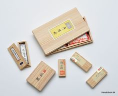 Japanese boxes for storage - called kiribako - made out of pawlonia