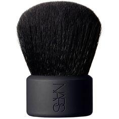 NARS Hanamachi Kabuki Brush found on Polyvore featuring beauty products, makeup, makeup tools, makeup brushes and nars cosmetics