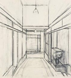Rick Amor Drawing Interior, Drawings, Interiors, Amor, Sketches, Decoration Home, Drawing, Decor, Portrait