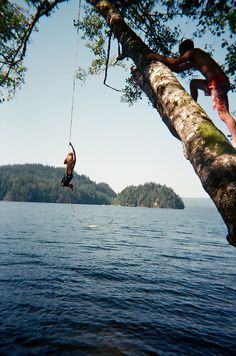 Puts the River Island rope swing to shame