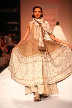 Vrisa by Rahul and Shikha Winter/Festive 2013 at Lakme Fashion Week