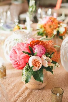 Beautiful centrepieces for wedding!