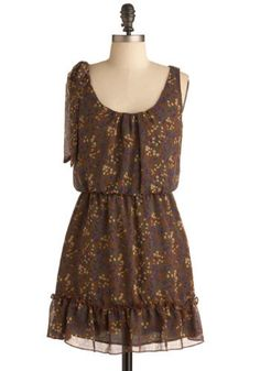 bohemian short casual dress from: modcloth
