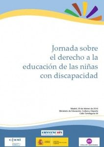 Jornada sobre el Derecho a la educación de las niñas con discapacidad