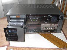 mitsubishi da-L70 cassette changer/stereo receiver