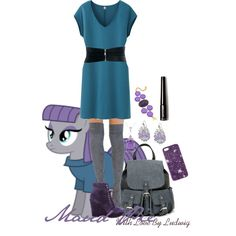 My Little Pony Maud Pie cosplay inspired outfit - Meet the voice actor for Maud at #PonyconNYC February 14-15-16 in Brooklyn, NY. www.Ponycon.nyc ROCK ON!
