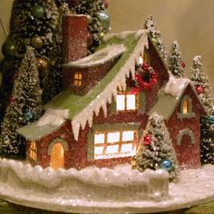KD Vintage Traditional Christmas House IV - Christmas Villages at ...