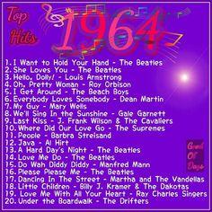 But 6 Beatles tunes! 60s Music, Music Hits, Music Lyrics, Elvis Presley, Michael Jackson, Nostalgia, Roy Orbison, She Loves You, We Will Rock You