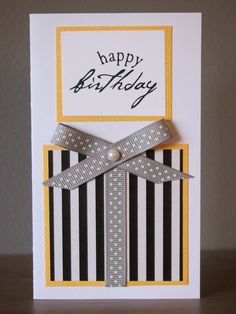 SALE ITEM - Yellow Gift Birthday Card (https://www.etsy.com/listing/97521216/sale-item-yellow-gift-birthday-card)