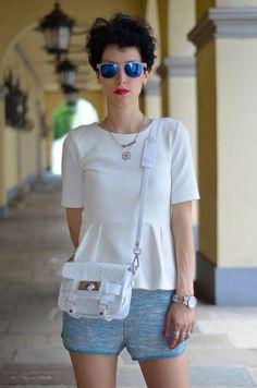 #Peplum, #Top #apparel - Peplum Top