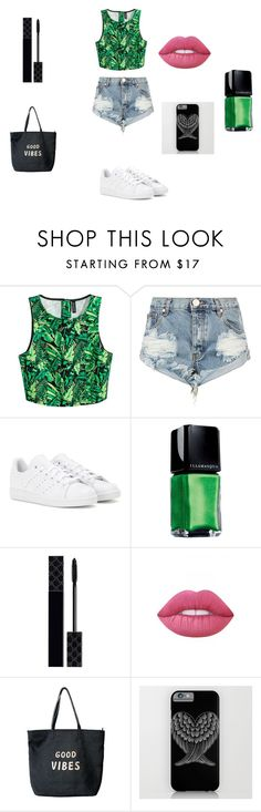 """swag 3"" by lamisslove on Polyvore featuring mode, One Teaspoon, adidas, Illamasqua, Gucci, Lime Crime et Venus"
