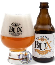 Our New Beer: BUX amber 6.5° Available at http://store.belgianshop.com/special-beers/1930-bux-amber-65-13l.html Clear dark blond to orange beer. The head was a white wispy affair with a full collar but no real depth. Decent blend of aromas and flavours: yeasty, malty and slightly spicy in nature. The taste also had a bitter hop undertone which gave the beer a balanced feel.