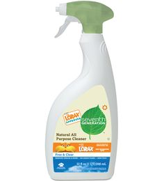 If every household in the U.S. replaced just on bottle of 32oz. solvent-containing all-purpose cleaner with our 32oz. solvent-free All Purpose Cleaner, we could prevent 9.3 million pounds of volatile organic compounds from polluting the air. http://www.youtube.com/watch?v=mZh_2CLcKlA #7GenDeepak