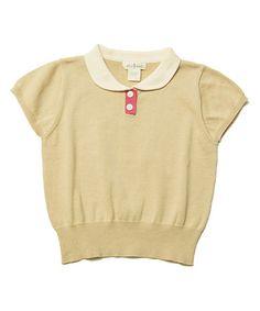 Look what I found on #zulily! Toast Tennis Top - Toddler & Girls #zulilyfinds
