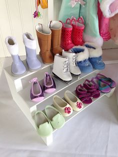 Hey, I found this really awesome Etsy listing at https://www.etsy.com/listing/197553291/new-doll-boutique-shoe-rack-only-fits