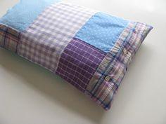 teal and lilac patchwork lumbar pillow - cushion cover - shabby home decor pillow cover - 12x20 - lumbar pillow - girl nursery - girls room