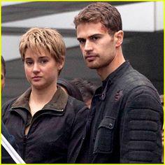 Shailene Woodley & Theo James Get Ready to Wrap 'Insurgent'