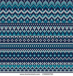 Festive And Fashionable Sweater Design Poster Seamless Fair Isle Knitted Pattern. Festive And Fashionable Sweater Design Poster. Fair Isle Knitting Patterns, Fair Isle Pattern, Knitting Charts, Loom Knitting, Knitting Designs, Knitting Stitches, Knit Patterns, Free Knitting, Knitting Projects