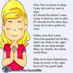 Very memorable prayer!