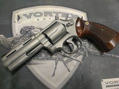 triggerhappyandyouknowit:  attacktics:  Colt Python  GORGEOUS.  That is a smith and Wesson with a python barrel.