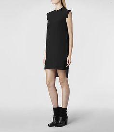 AllSaints Tonya Dress | Womens Dresses... - Street Fashion